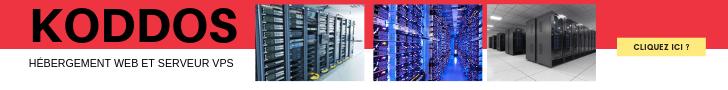 Koddos hébergement web et location de vps